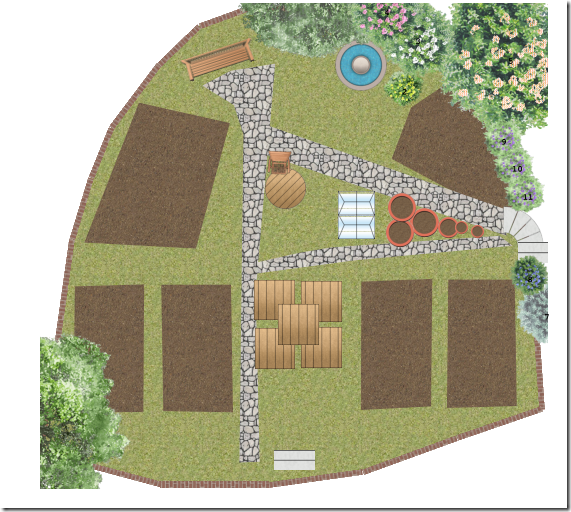 Herb Garden Plans and Planting List - Cae Non