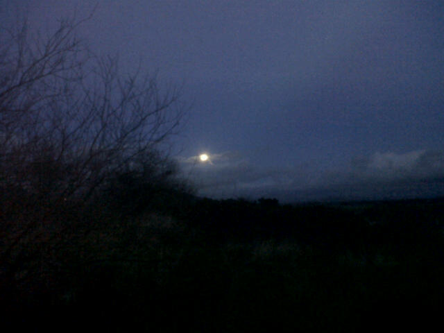 Yule full moon